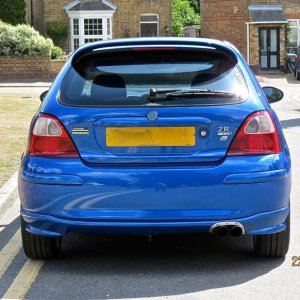 MG ZR 160+  (JULY 2015) - SHINY !