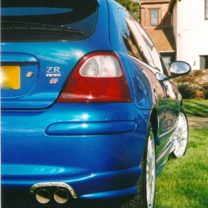 MG ZR 160+  (2002) - ITG MAXOGEN INDUCTION KIT, X-POWER EXHAUST, 4-2-1 MANIFOLD AND COMP'CAT. FITTED BY MG SPORT AND RACING.
